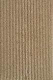 Paper background. Sheet of recycled corrugated cardboard, great texture and detail Stock Photography
