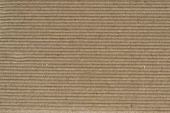 Paper background. Sheet of recycled corrugated cardboard, great texture and detail Royalty Free Stock Photos