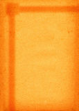 Paper background. Close-up of retro paper background with burnt half frame Stock Photography