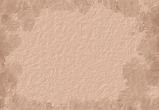 Paper background. A textured background with splotch vignette Stock Photos