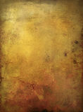 Paper background banner grunge. Old paper background banner with grungy structure and shifting brown colors Royalty Free Stock Images
