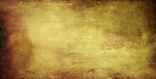 Paper background banner grunge. Old paper background banner with grungy structure and shifting brown colors Royalty Free Stock Photography