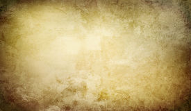 Paper background banner grunge. Old paper background banner with grungy structure and shifting brown colors Stock Photos