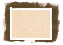 Paper Background with Brush Strokes Royalty Free Stock Photos