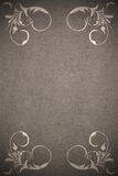 Paper background with  ornaments Royalty Free Stock Photo