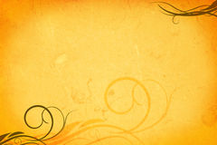 Paper background with ornaments Royalty Free Stock Photography