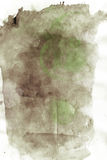 Paper background painted with water color. White paper background painted with water color Stock Photography