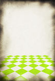 Paper background with pattern. Close-up of old paper background, chessboard style pattern in front Royalty Free Stock Photos