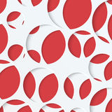 Paper background with round holes Royalty Free Stock Photos