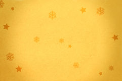 Paper background with snow flakes Royalty Free Stock Images