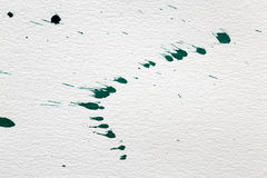 Paper background with splashes of ink Royalty Free Stock Photo