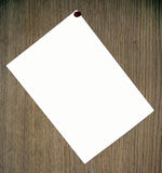 Paper background on the wood stock image