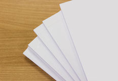 Paper background for your note Royalty Free Stock Image