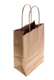 Paper bag. On white background Stock Image