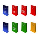 Paper-bag Royalty Free Stock Images