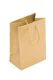 Paper bag. Isolated on a white Stock Photo