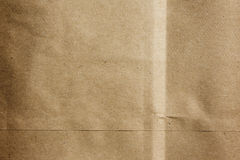 Paper Bag Background. Brown paper sack background texture stock photography
