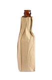 Paper bag with bottle Royalty Free Stock Image