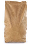 Paper bag. Brown paper bag.  on white background. 3D illustration Stock Image