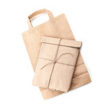 Paper bag and envelope Stock Photography
