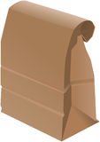Paper Bag - Folded Stock Photo