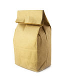 Paper bag for food Royalty Free Stock Image