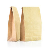 Paper bag group Royalty Free Stock Photography