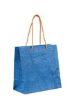 Paper bag with handles Stock Photo