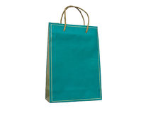 Paper bag with handles Stock Image