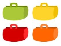 Paper bag illustration Stock Image