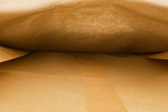 Paper bag inside Royalty Free Stock Images
