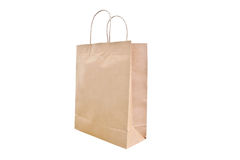 Paper bag isolate Stock Photography