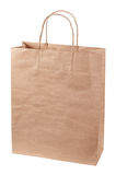 Paper bag isolated. Stock Image