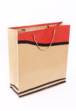 Paper bag isolated royalty free stock images