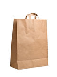 Paper Bag isolated on white royalty free stock photo