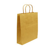 Paper bag isolated on white Royalty Free Stock Image