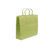 Paper bag isolated on white Royalty Free Stock Photos