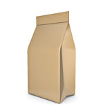 Paper bag package Stock Photo