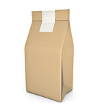 Paper bag package Royalty Free Stock Photos