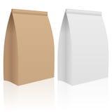 Paper bag set Royalty Free Stock Photos