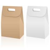 Paper bag set Royalty Free Stock Images