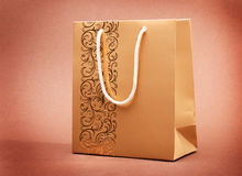 Paper bag shopper Royalty Free Stock Images