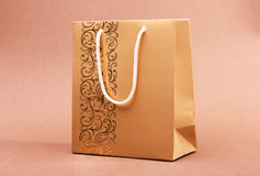 Paper bag shopper Royalty Free Stock Photo