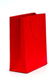 Paper Bag Shopper Isolated On White Background Royalty Free Stock Image