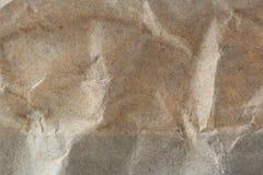 Paper Bag Texture. A macro shot of a paper bag texture Stock Photo