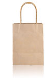 Paper bag on white background Stock Photography