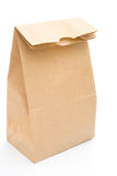 Paper bag. On a white background royalty free stock images