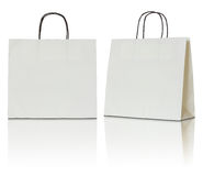 Paper bag on white background Stock Images