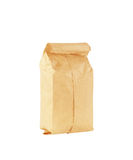 Paper bag  on white Stock Photos