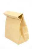 Paper bag on white Stock Photos